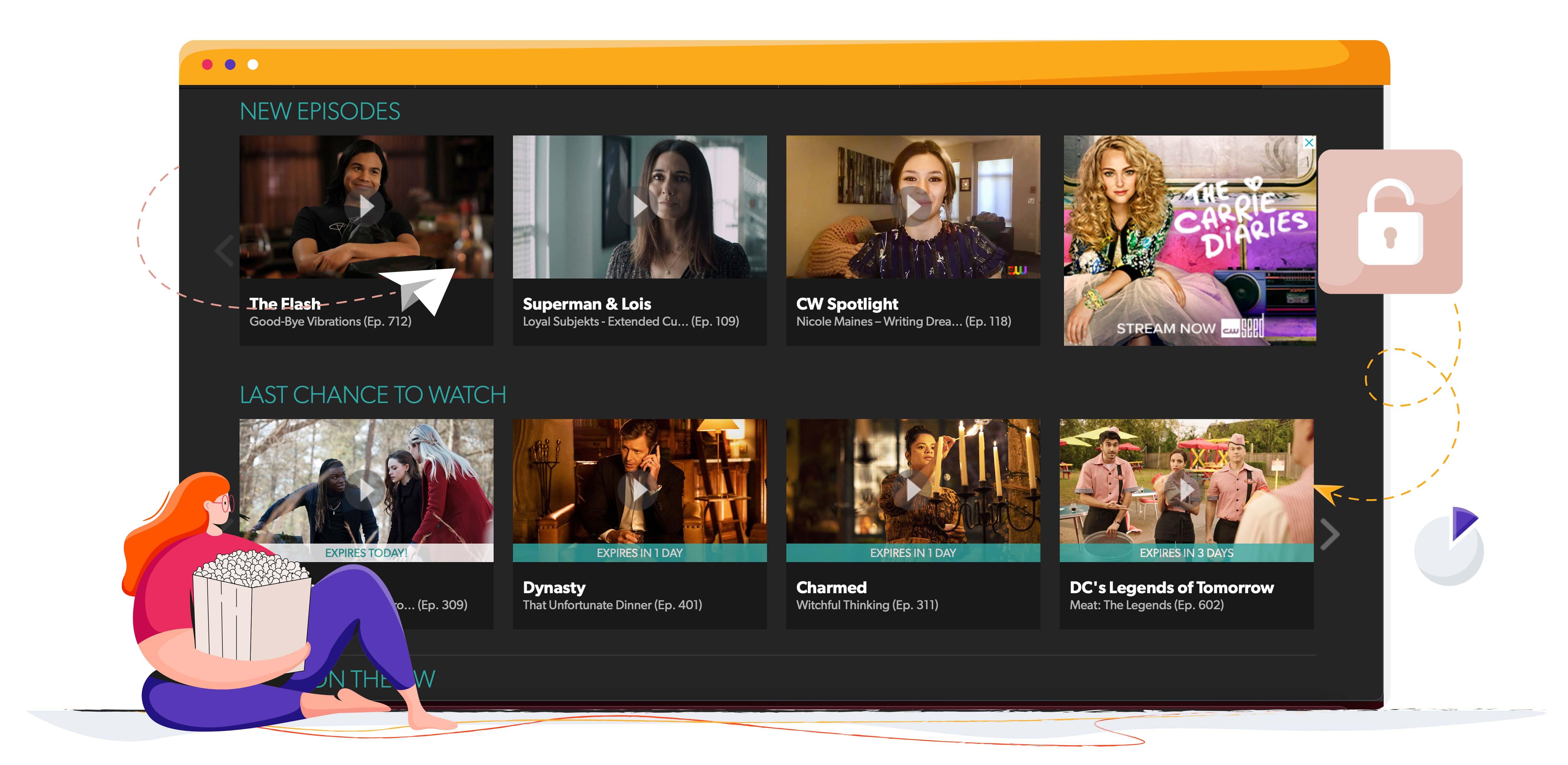 CW streaming TV sorozat