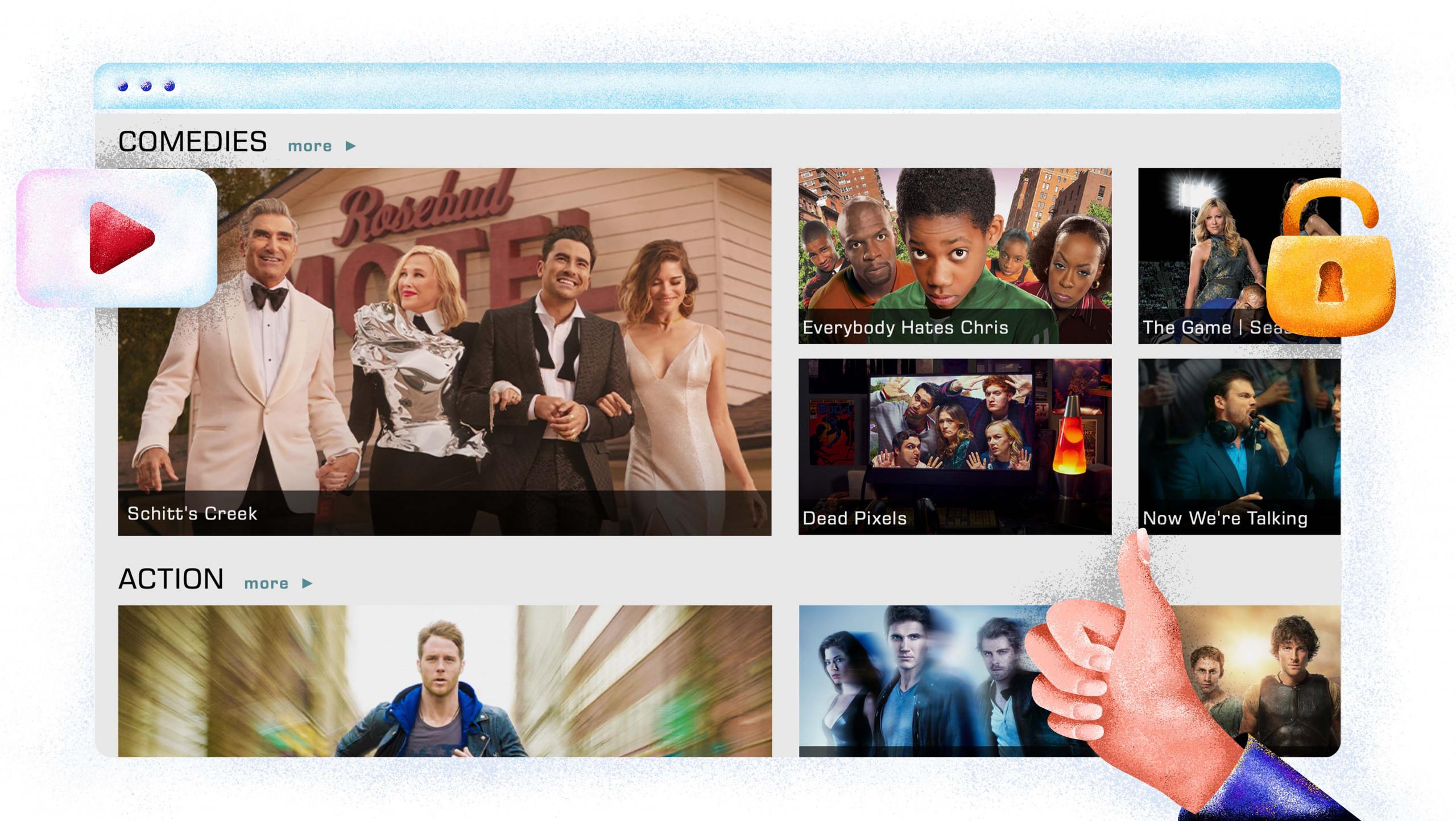 CW Seed streaming modern és régi sorozatok