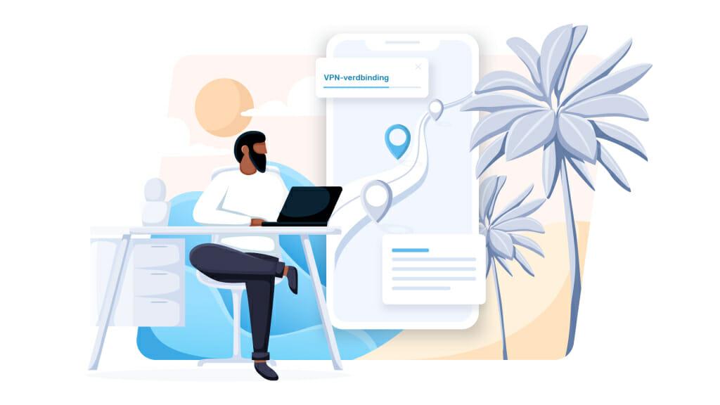 Virtuele locatie wijzigen met VPN