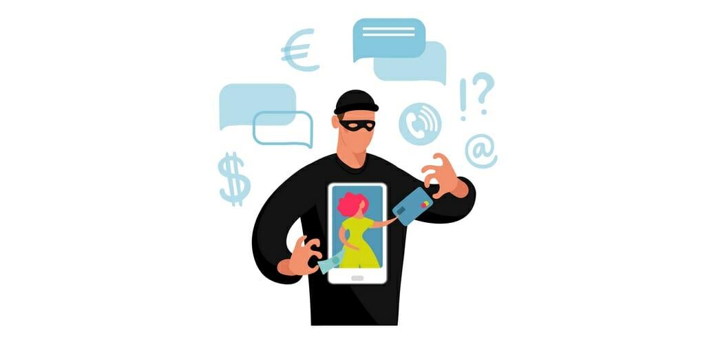 Scammers door online winkelen