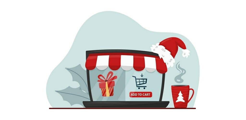 Online kerstwinkelen