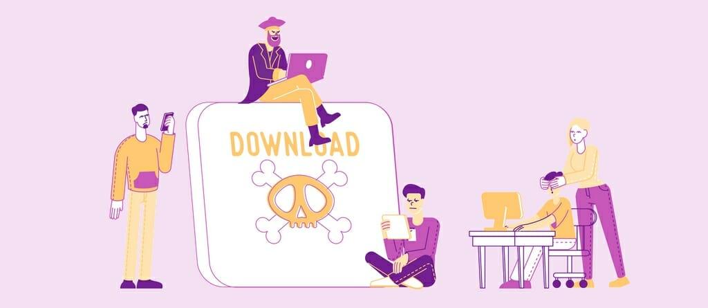 Inhoud die inbreuk maakt op het auteursrecht is beschikbaar op Usenet