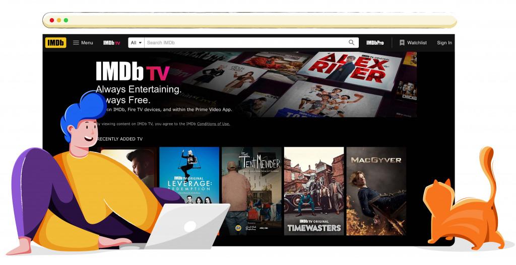 IMdb TV gratis streaming platform