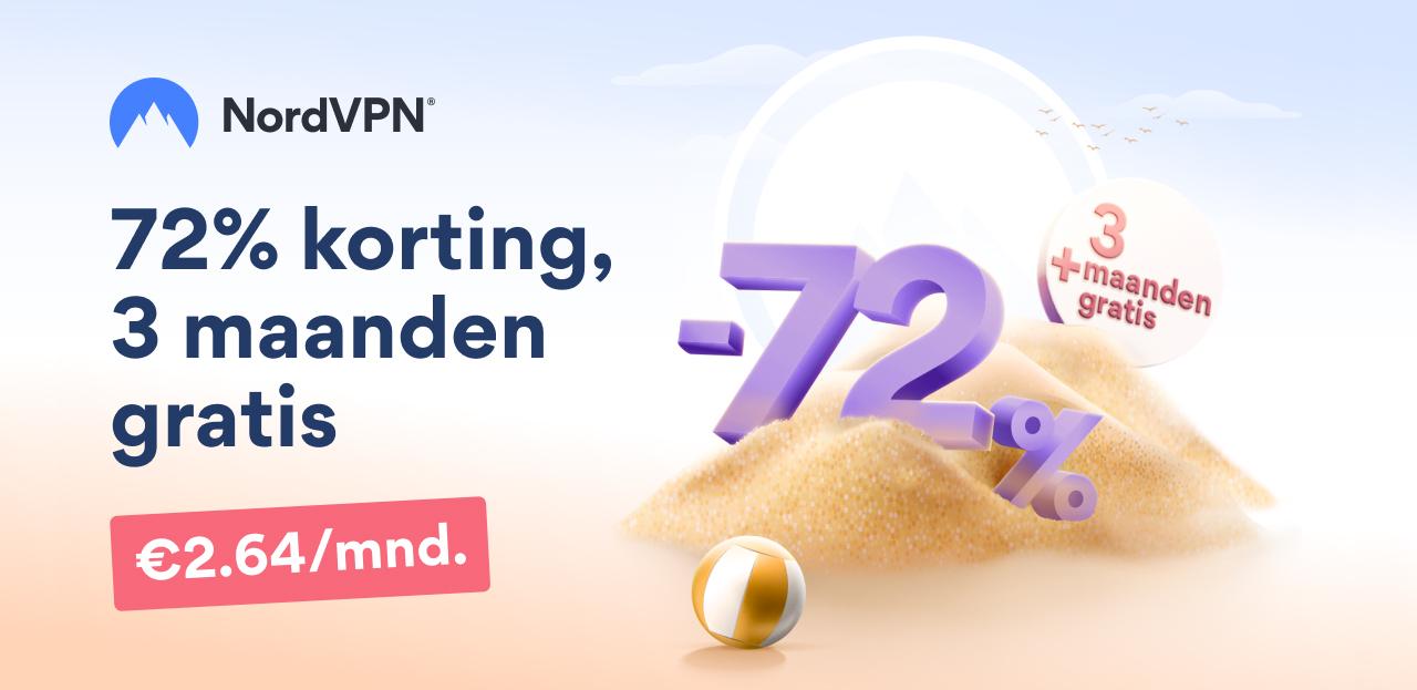 NordVPN zomerdeal met VPN Verdbinding