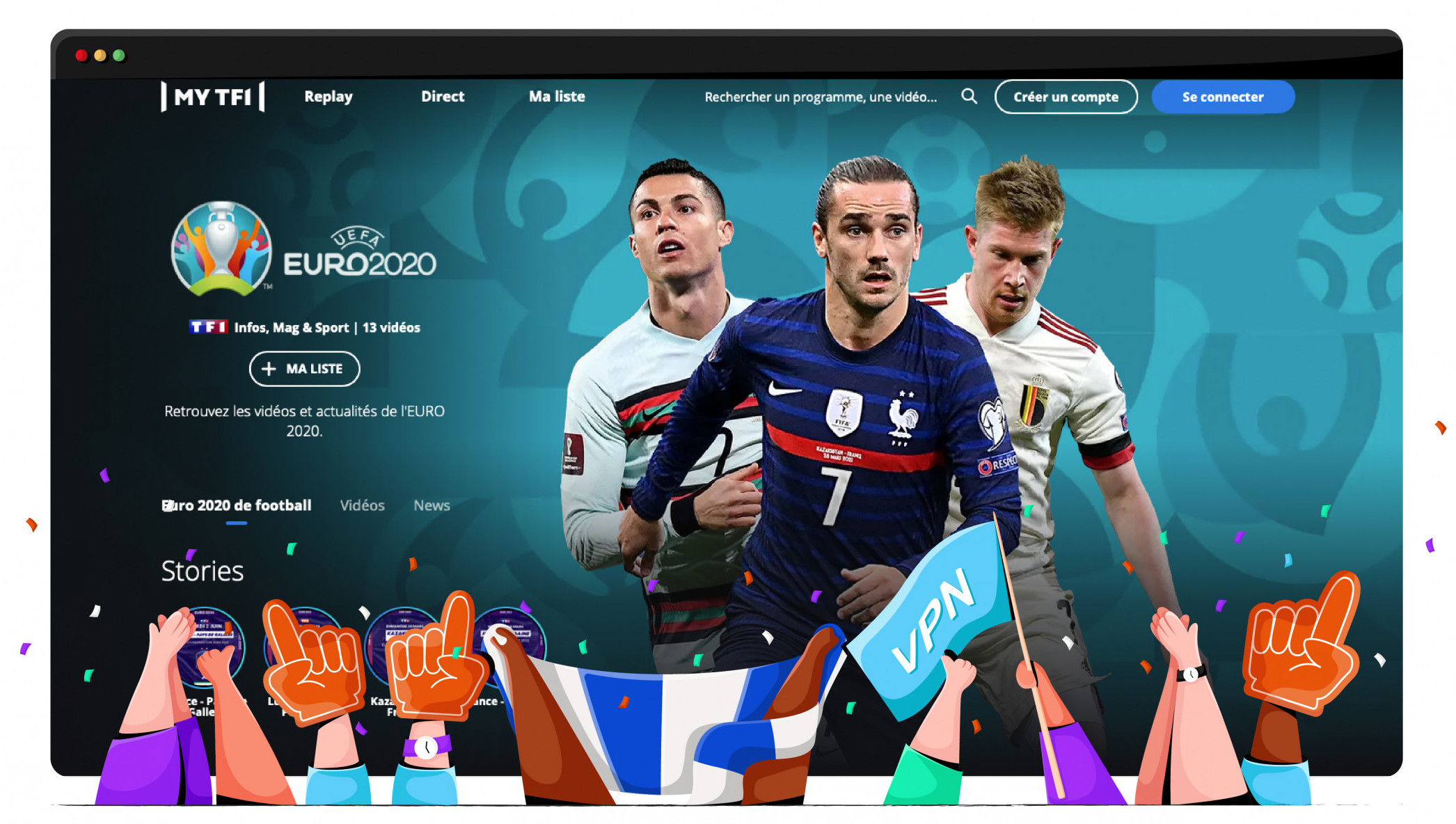 Stream Euro 2020 France from TF1