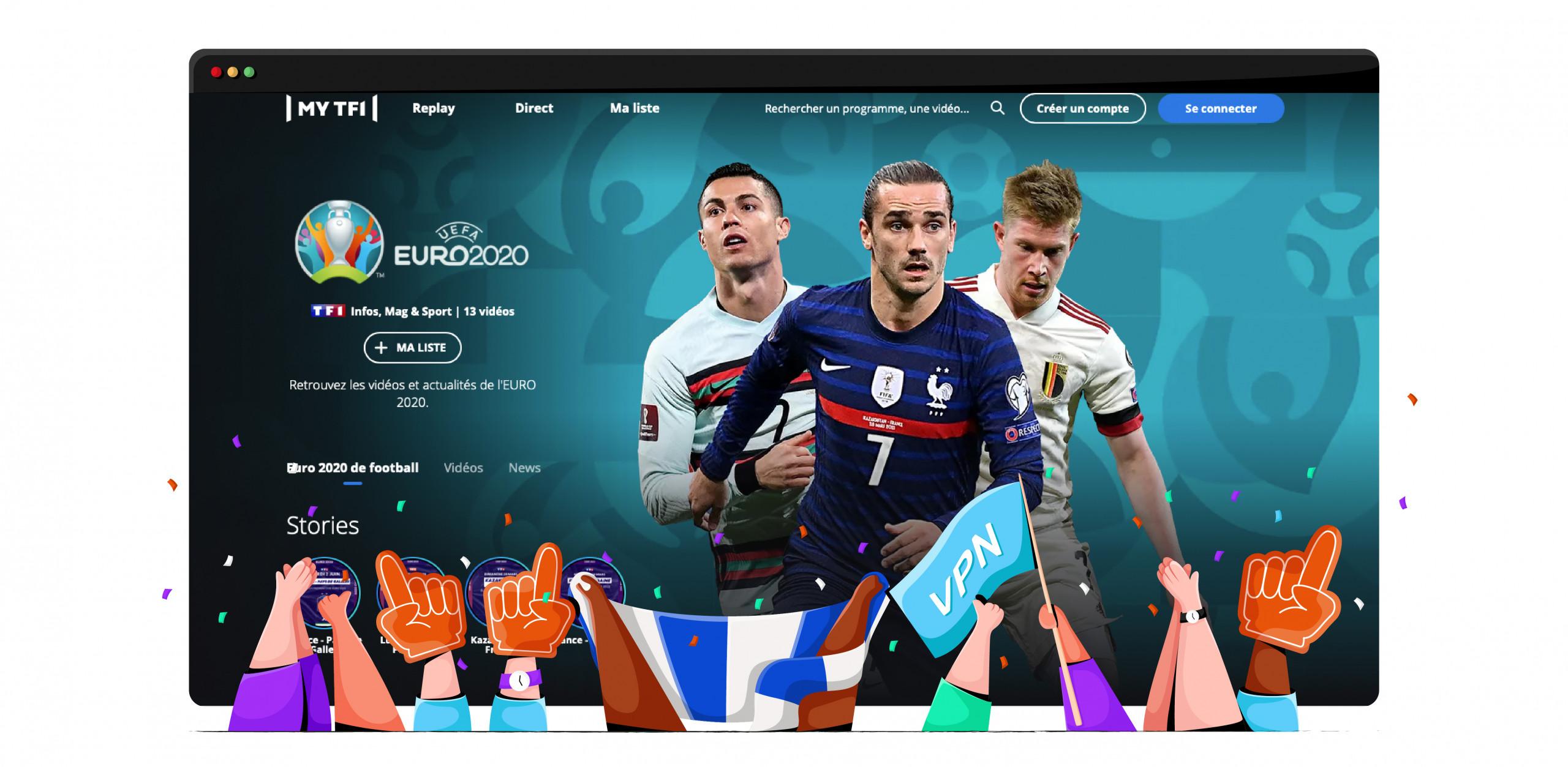 Euro 2020 France TF1
