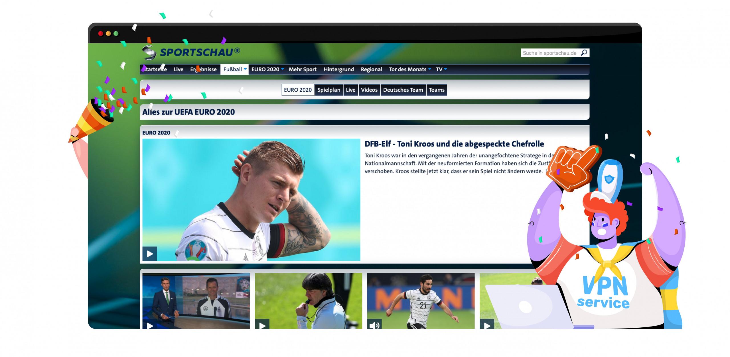 Euro 2020 Germany ARD