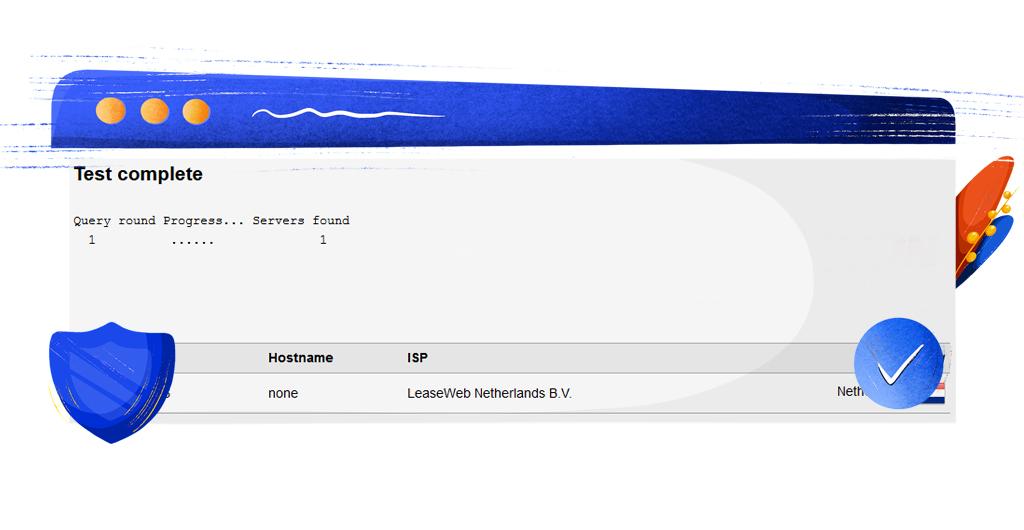 ExpressVPN DNS sızıntı testi