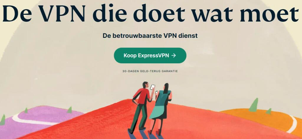 ExpressVPN neue Website