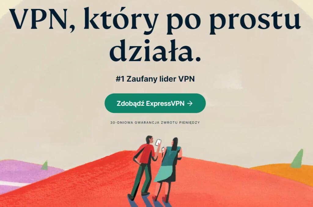 Nowa witryna ExpressVPN