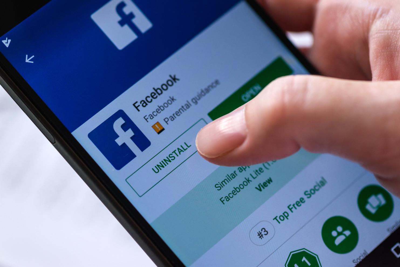 Facebook tracking af deleting