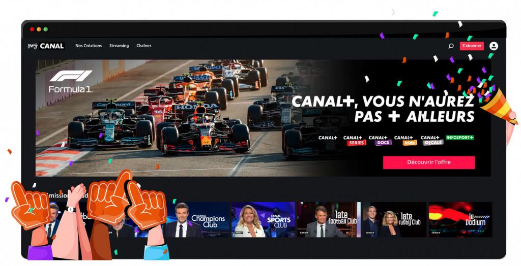 Channel 8 streamt Formule 1 in Frankrijk