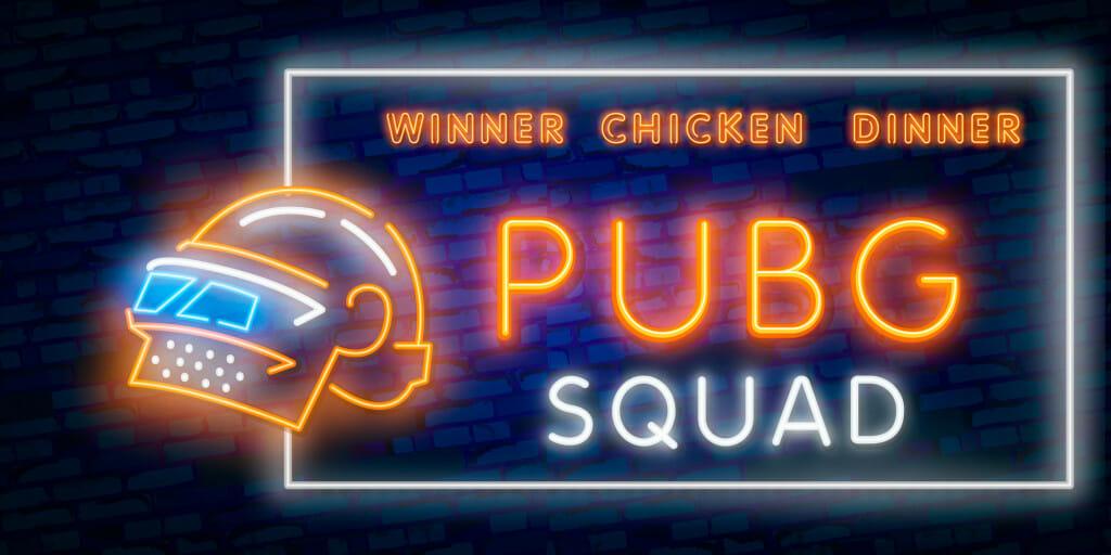 PubG winner chicken dinner