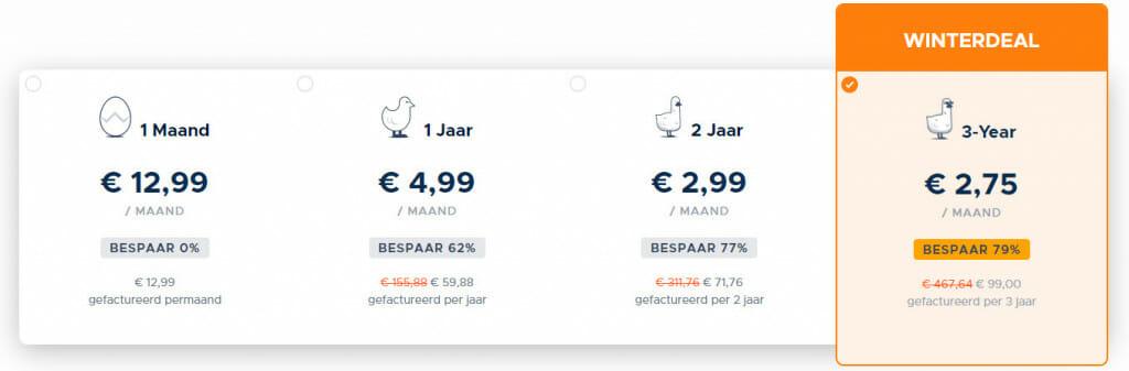 GOOSE VPN Prijzen