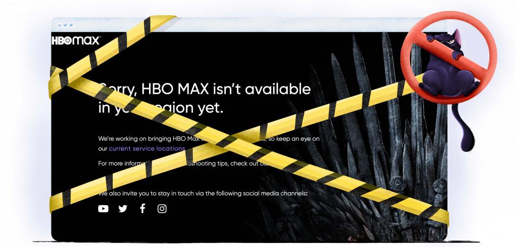 HBO Max is niet verkrijgbaar in Nederland