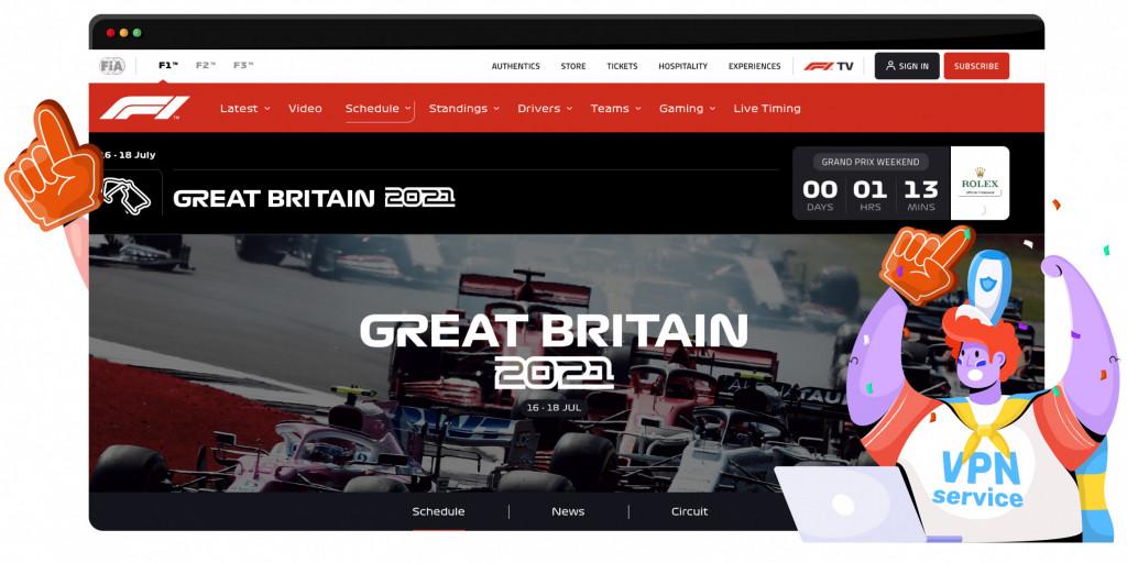 De volgende Formule 1 race is de Grand Prix van Silverstone