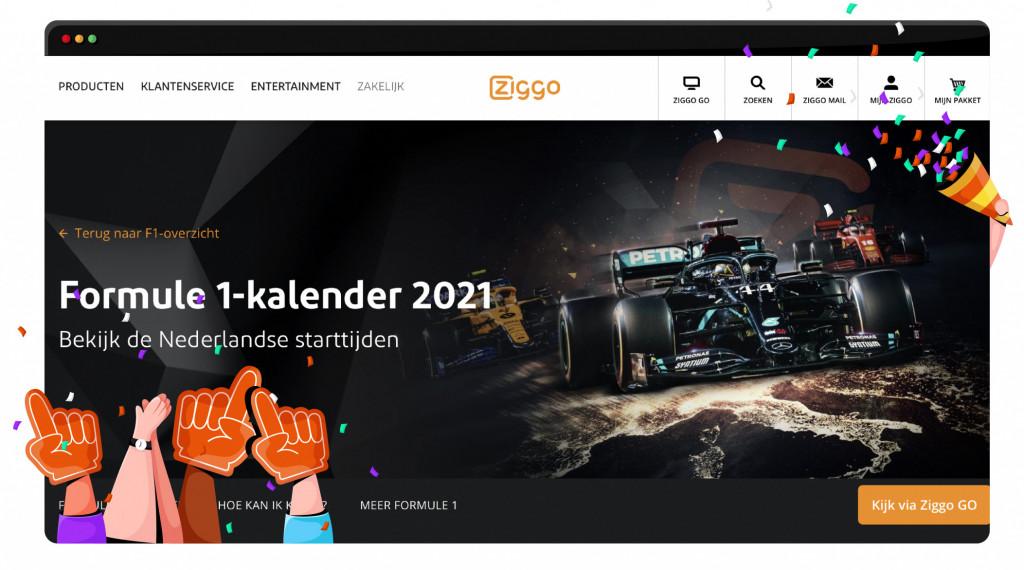 Silverstone GP-streaming op Ziggo Sport