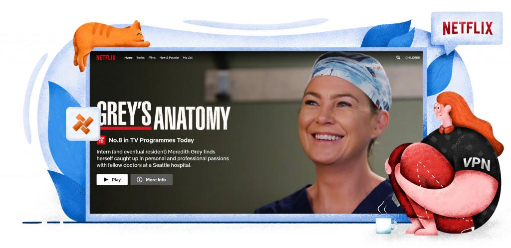 Grey's Anatomy is beschikbaar op Amerikaanse Netflix