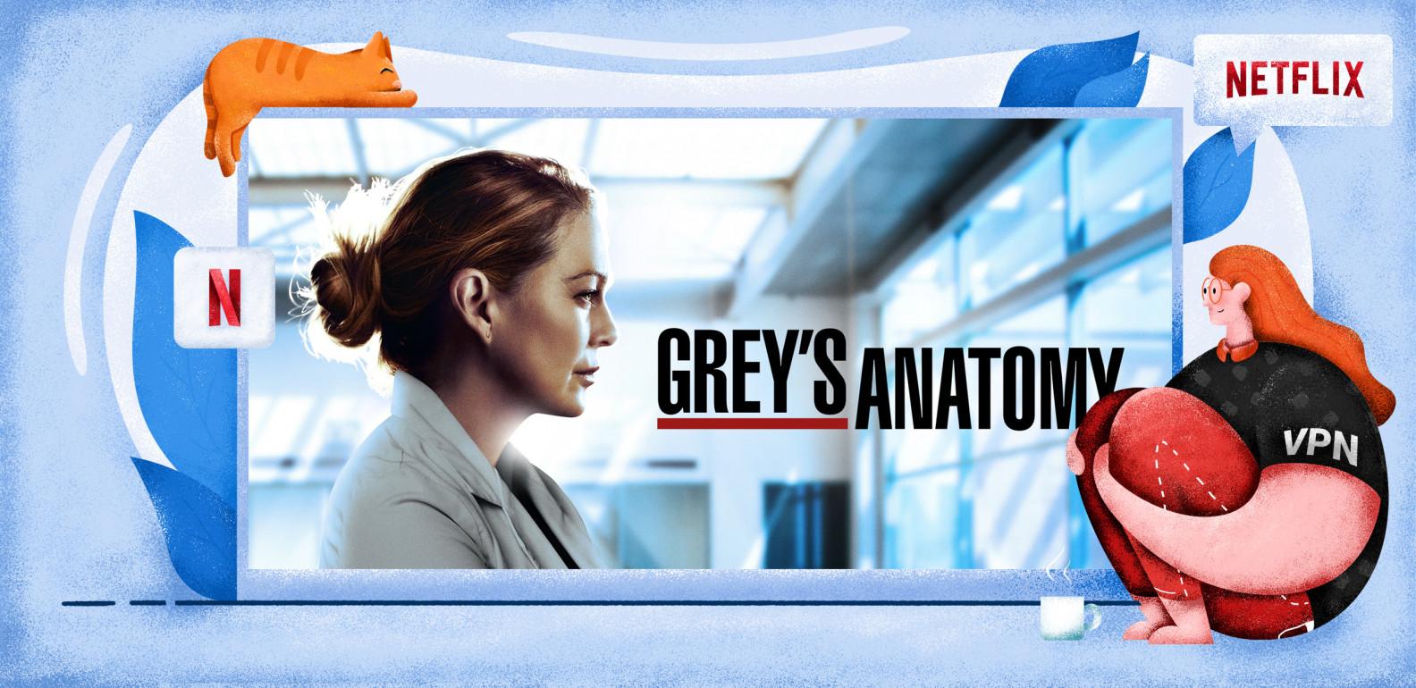 Hoe kun je Grey's Anatomy op Netflix kijken