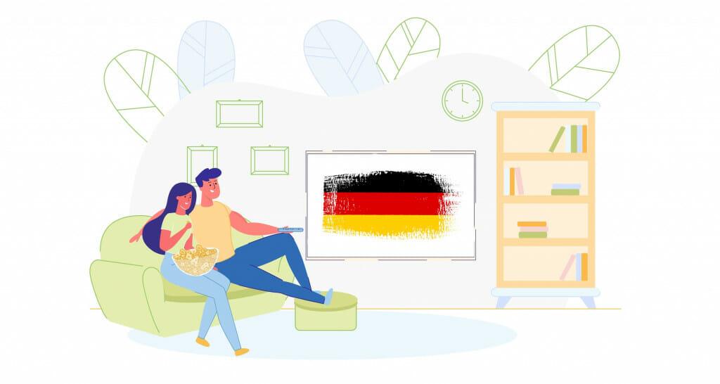 Deutsche Serien überall verfügbar mit einem VPN