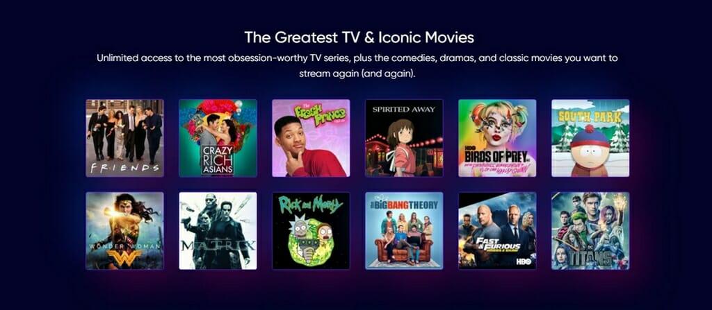 HBO Max Serien und Filme