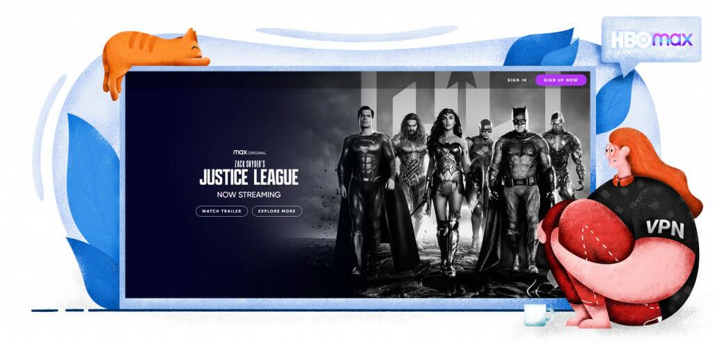 Justice League is exclusief te zien op HBO Max