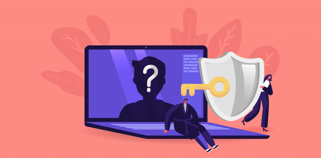 A VPN protects you from prying eyes
