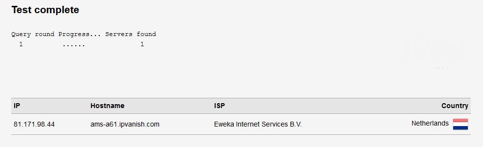 Az IPVanish vizsgálata: minden rendben