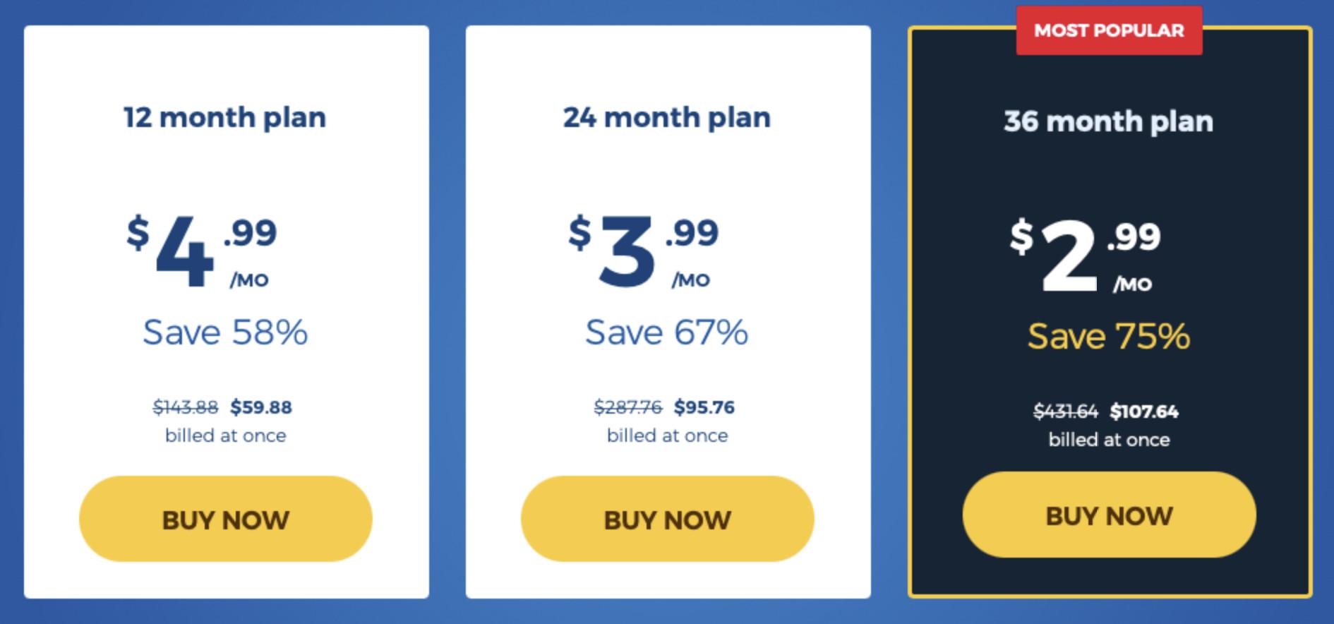 HMA Subscription Plans