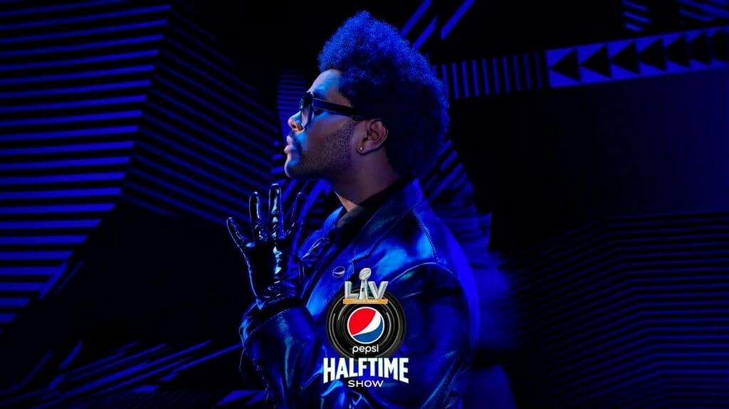 The Weeknd op Super Bowl