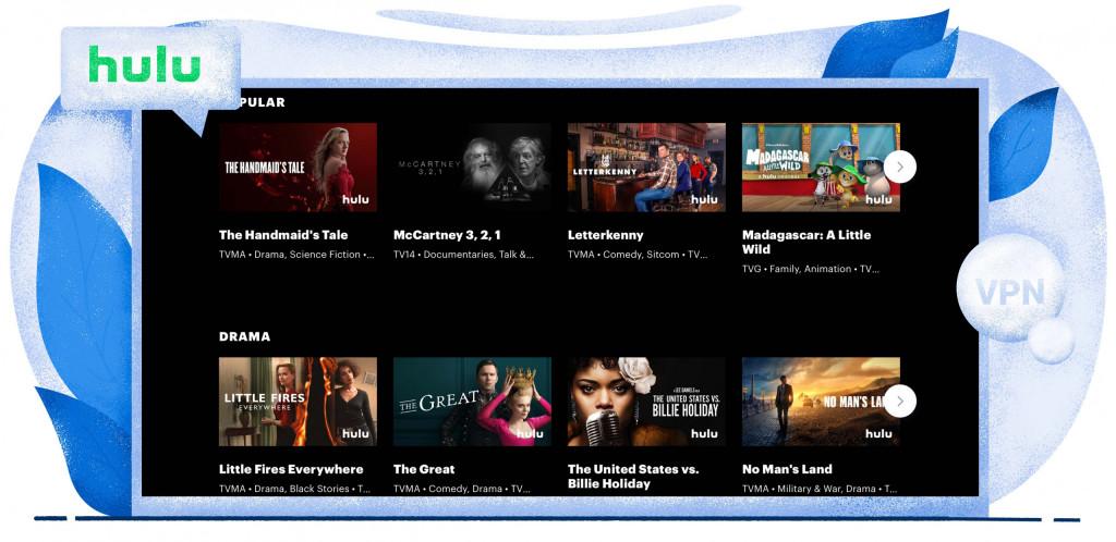 Hulu streaming TV sorozat