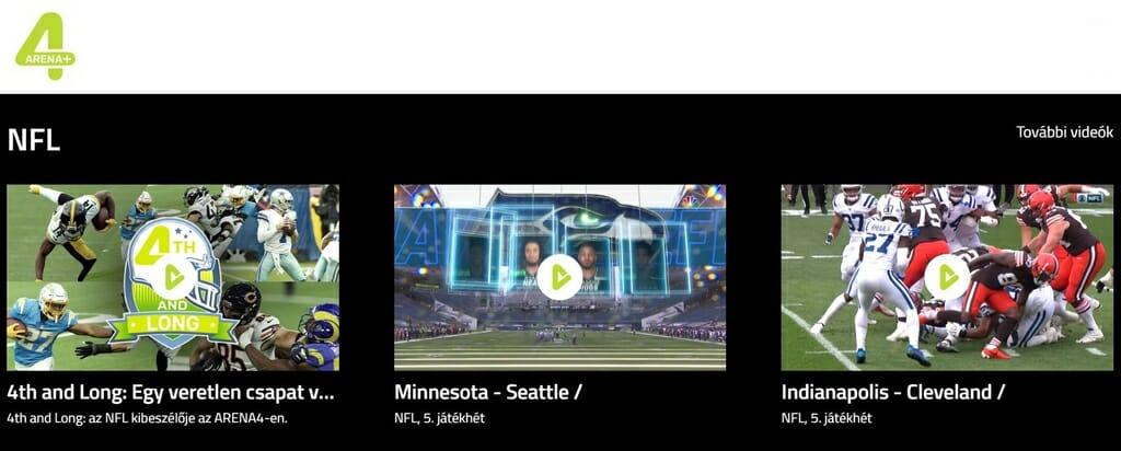 Élő Super Bowl az ARENA4-en