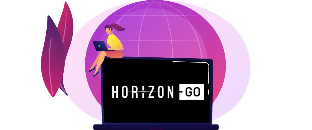 Horizon Go met een VPN kijken
