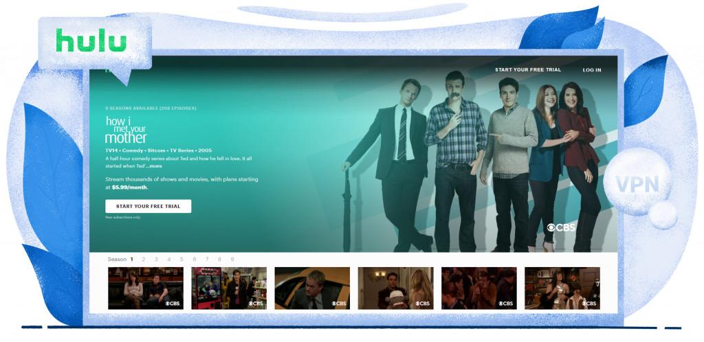 How I Met Your Mother streaming op Hulu