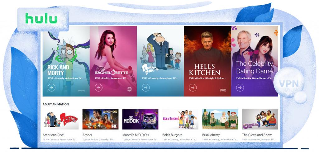 Streaming von Shows und Serien auf Hulu