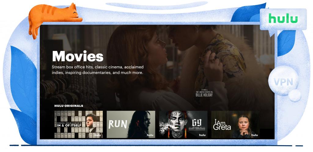 Filme streamen auf Hulu