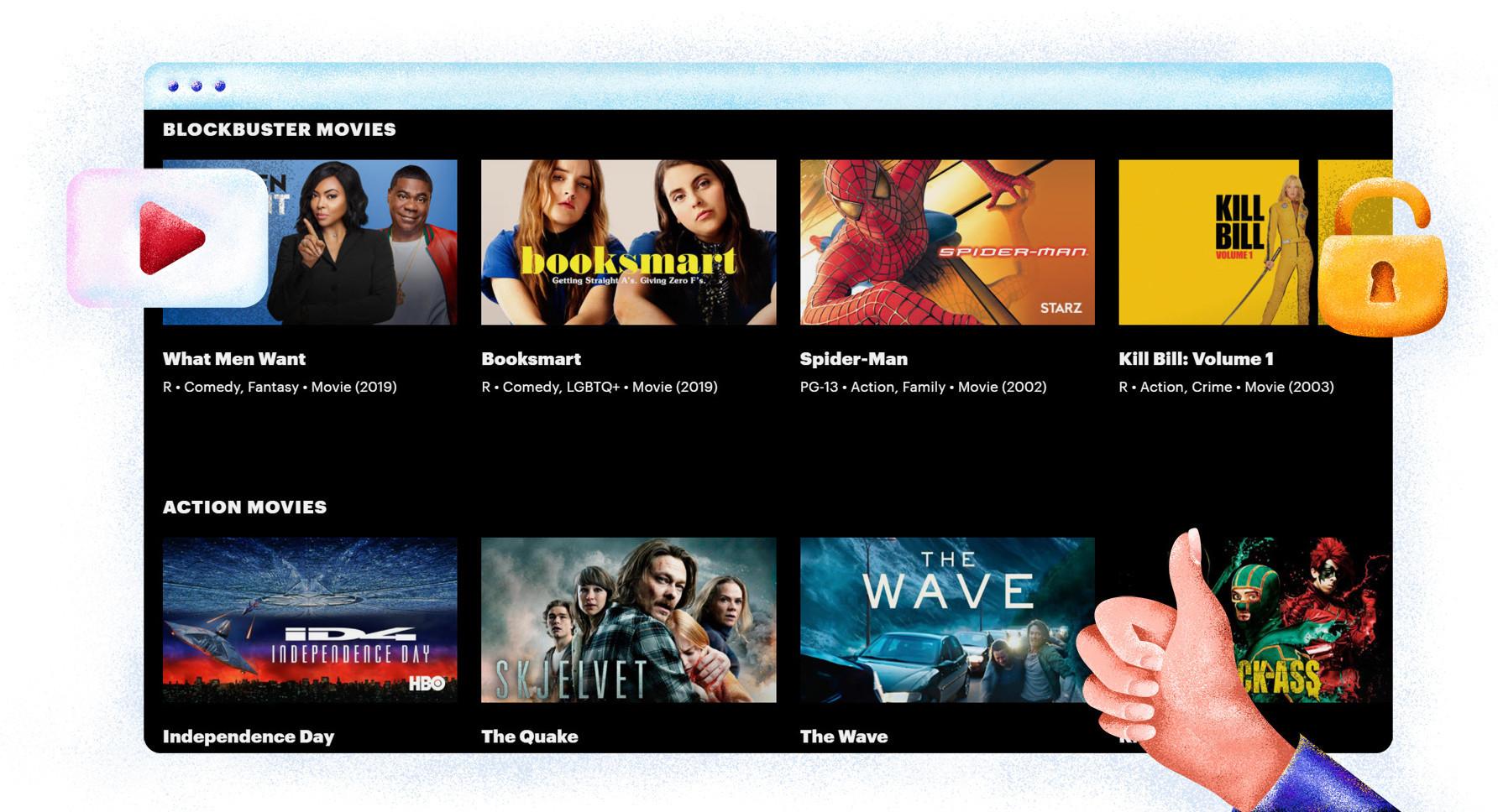 Filmy dostępne na Hulu