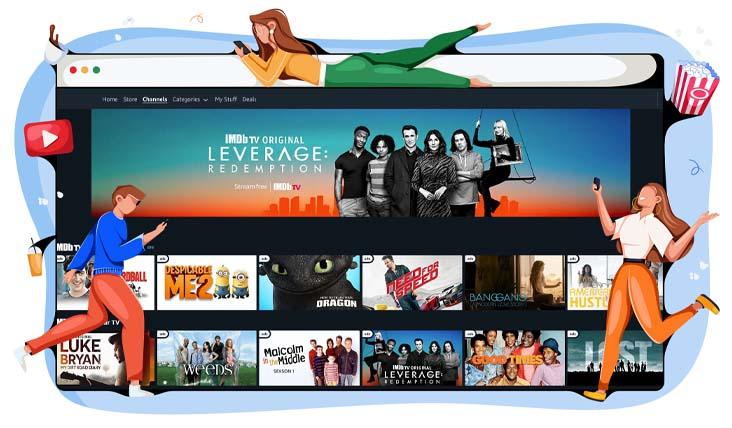Bereik IMDb TV vanuit Nederland met een VPN
