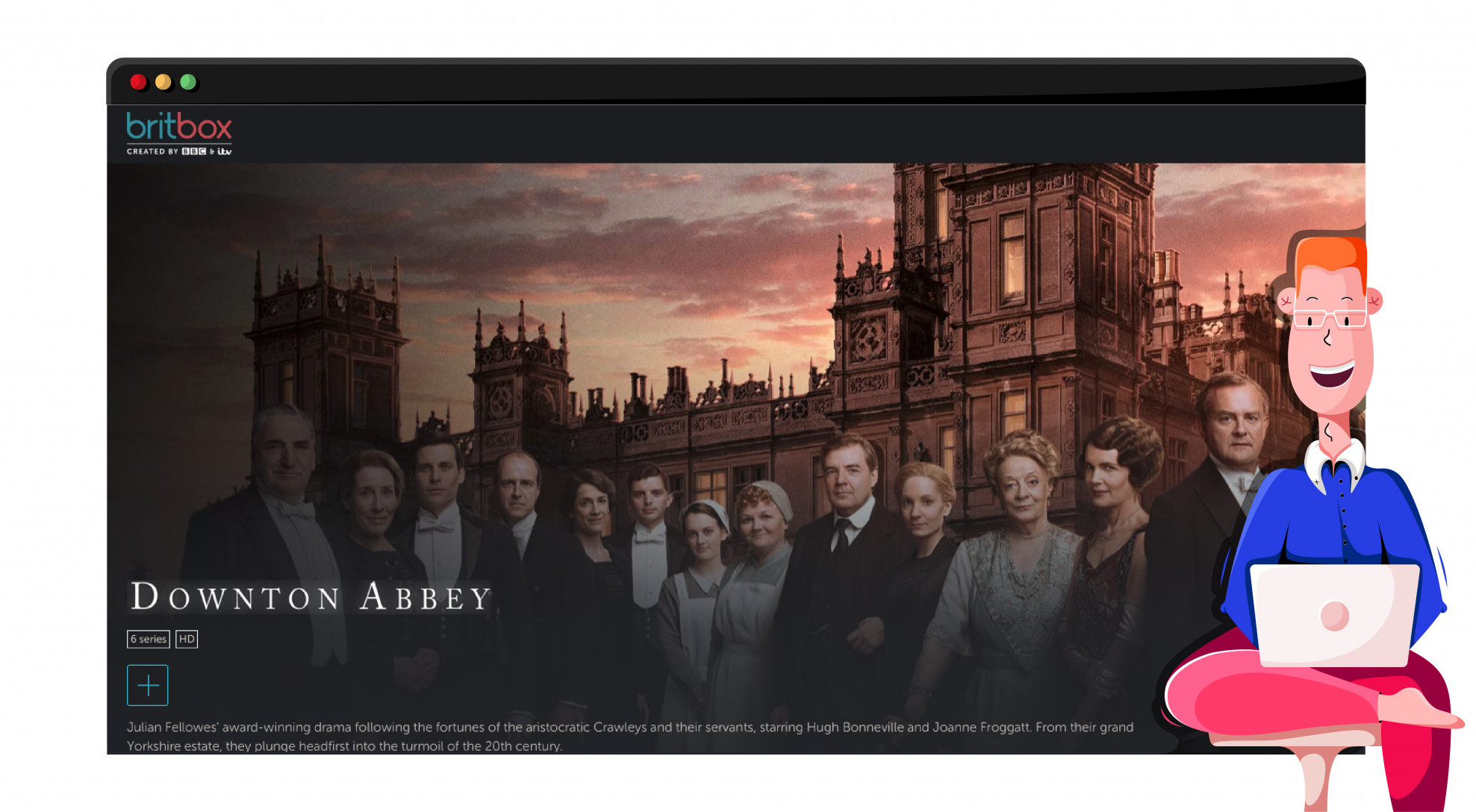 Downton Abbey streaming on ITV HUB