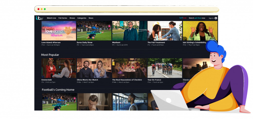 Stream the best shows, series and movies on ITV HUB