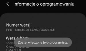 Aktywować tryb programatora