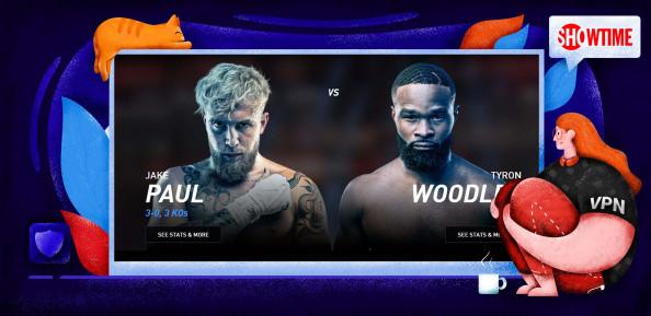 So streamen Sie Jake Paul vs. Tyron Woodley in Deutschland