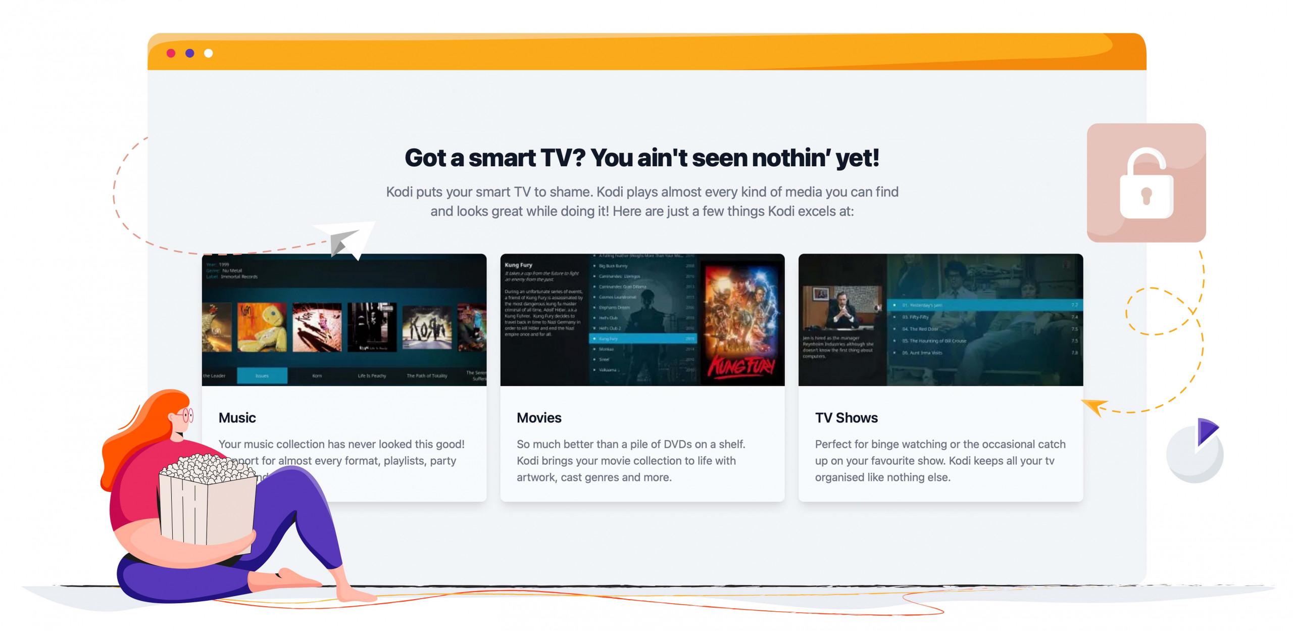 Kodi TV entertainment