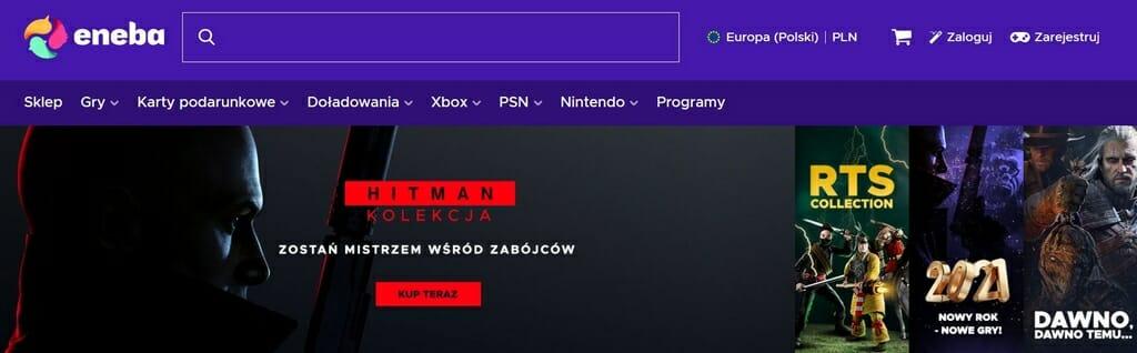 Eneba jest bardzo popularną stroną wśród graczy