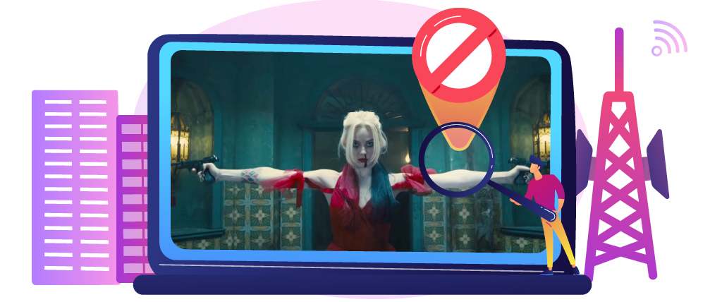 Bypass geoblocks to watch Suicide Squad