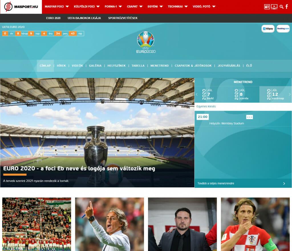 M4 Sports programozás