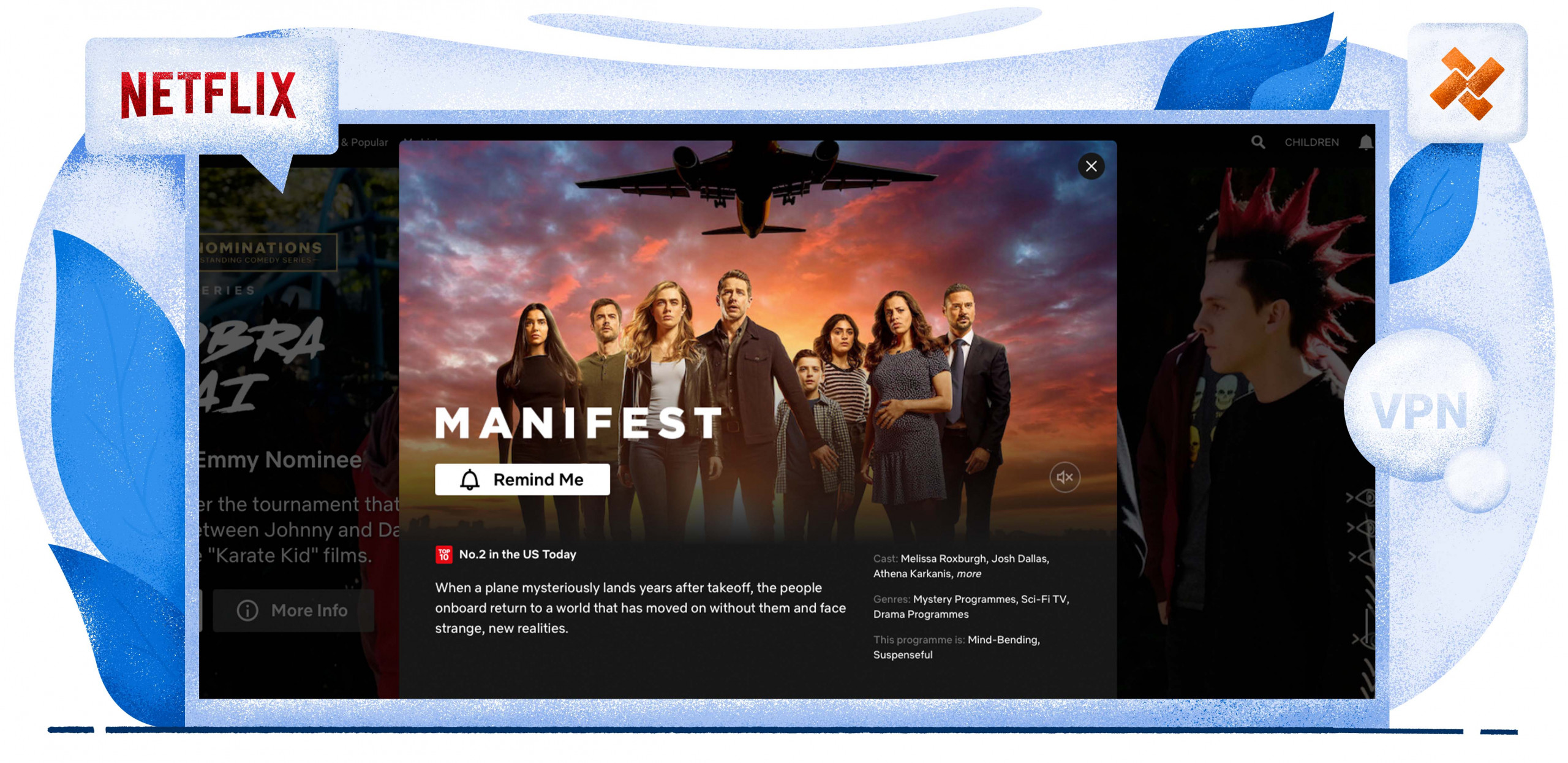 Kijk Manifest op Netflix met VPN Nederland
