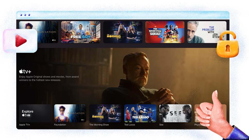 Oglądaj Apple TV Plus
