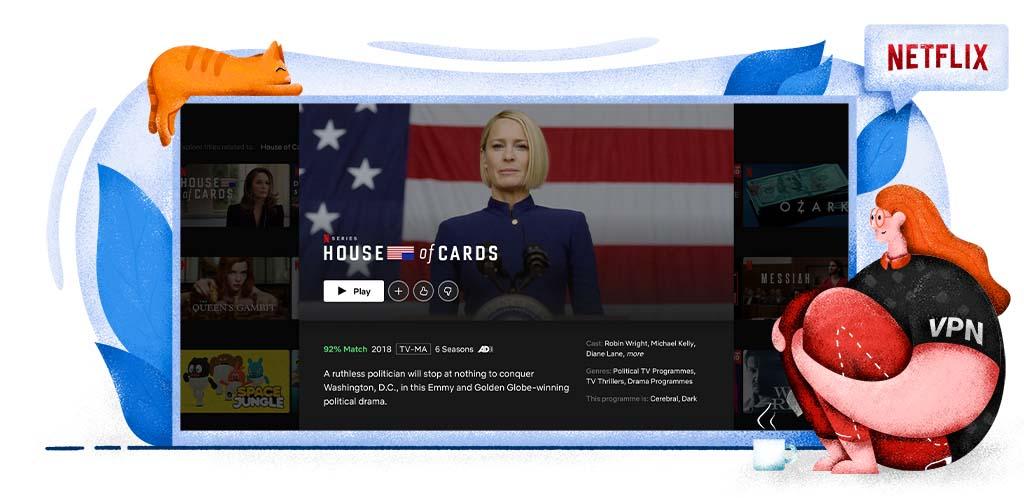 House of Cards w streamingu na Netflixie