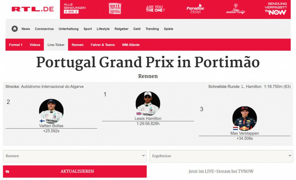 Formule 1 RTL Kijken